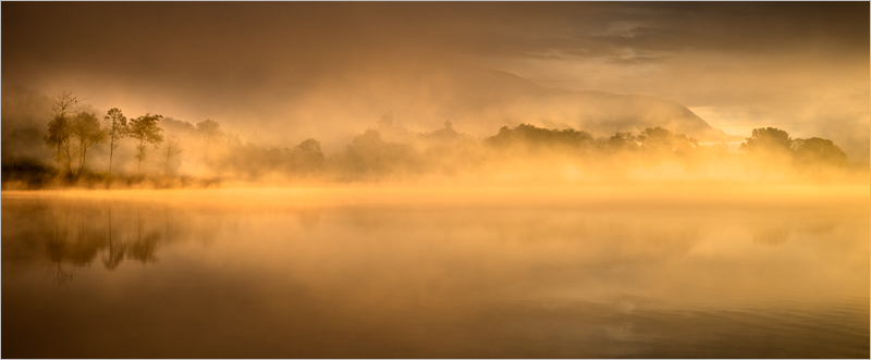 Golden Sunrise, Loch Ard